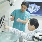 精密診断と治療説明